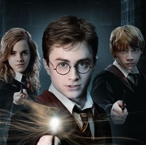 Hermione granger harry potter and ron weasley the - Harry potter hermione granger ron weasley ...