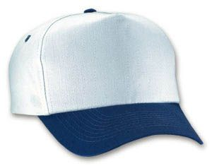 dfed4c10bf575a 5 Panel Cotton Twill Pro-Style Cap.65/35 Poly- Cotton Twill, 5-panel  constructed firm front full profile cap w/ Embroidered Eyelets, seamless  front panel ...
