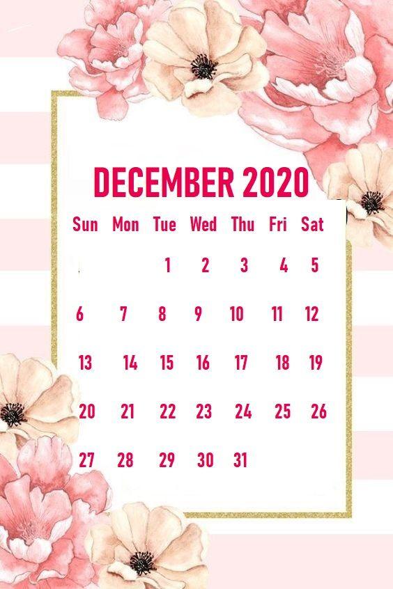 Monthly 2020 iPhone Calendar Wallpaper | Calendar ...