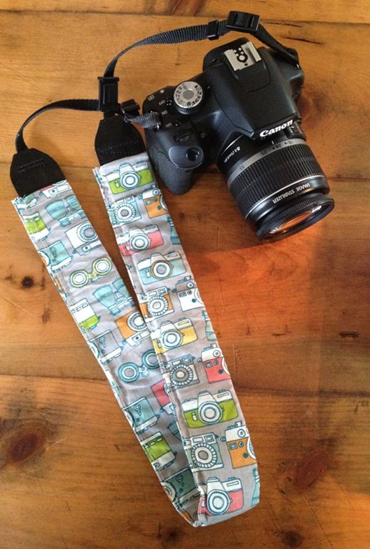 DIY: Camera Strap Cover   Diy camera strap, Camera strap ...
