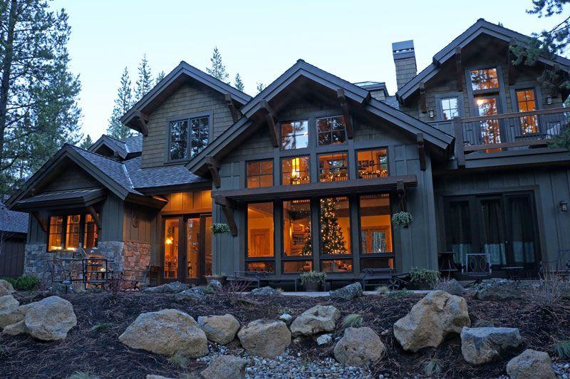 Craftsman Mountain House Plan With Four Master Suites And Baths Mountain House Plans Craftsman House Plans Craftsman House