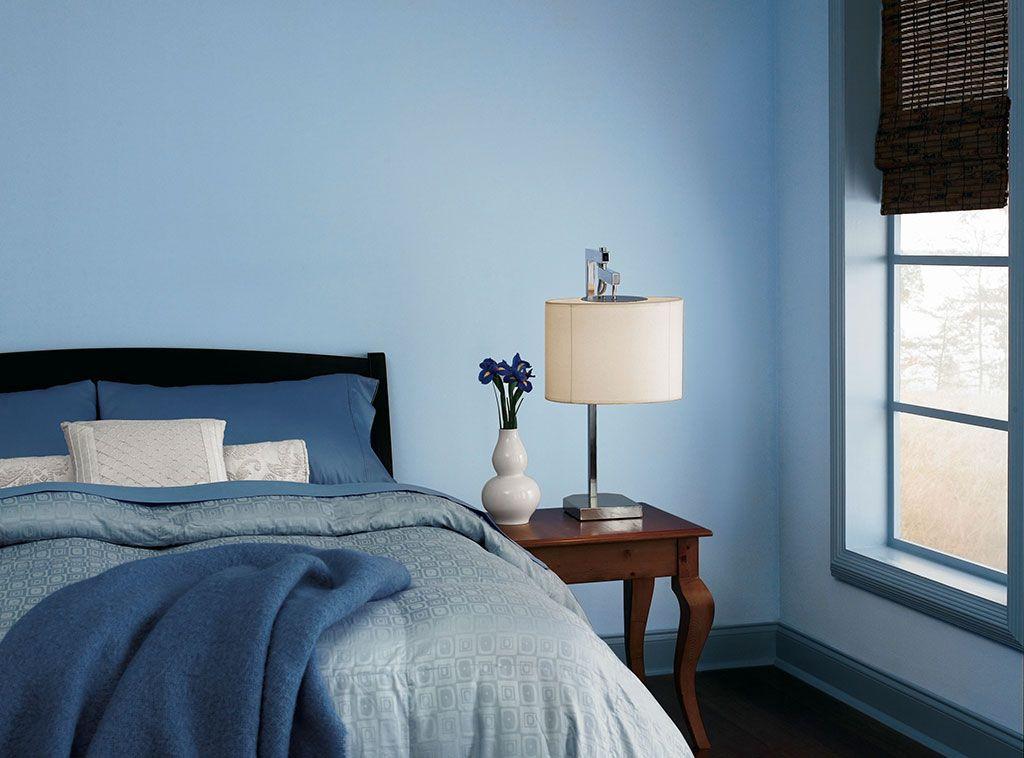 Paint Colours For Bedroom Blue
