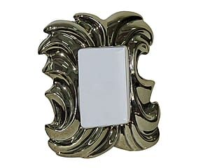 Cornice portafoto da tavolo in poliresina Silver - 20x25x3 cm