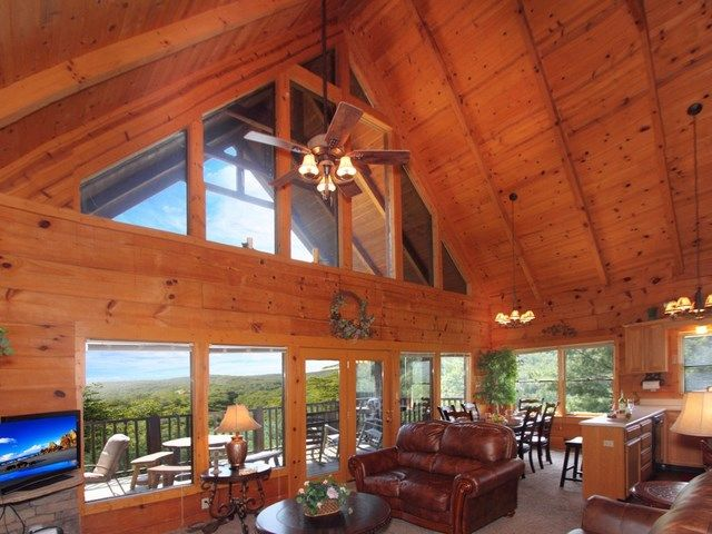 Etonnant Cabin Rental In TN | Smoky Mountain Golden Cabins   Heavenu0027s View