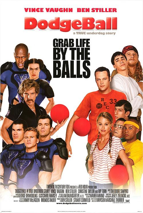 Dodgeball A True Underdog Story 2004 Review Funny Movies