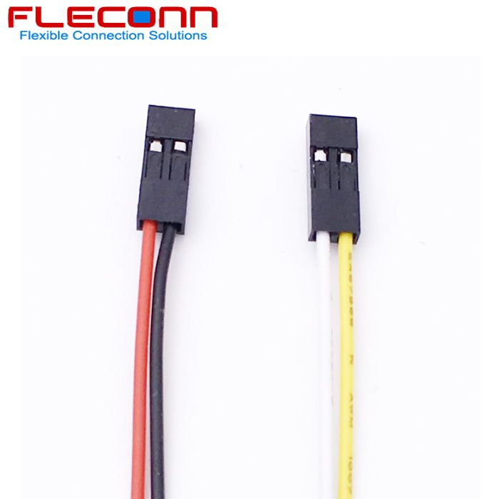 2.54mm Pitch 2 Pin Dupont Connector Wire Harness Harness
