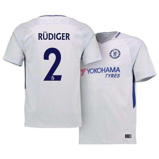 promo code e4962 eb413 17-18 Chelsea Away Shirt antonio rudiger | chelsea jerseys ...