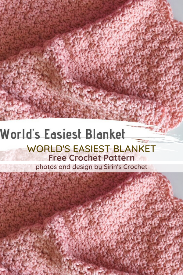 Really Easy To Crochet Baby Blanket Is One Of The Best Baby Shower Gifts You Can Get [Video Tutorial