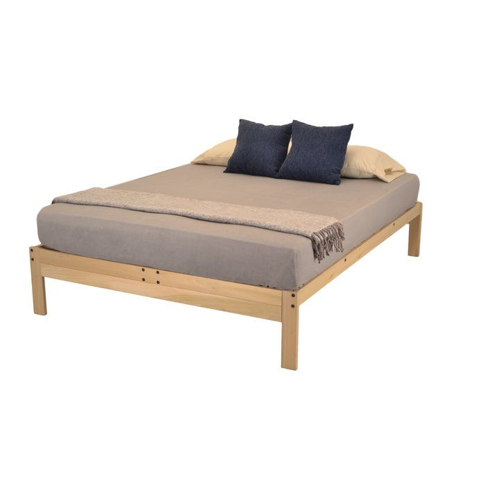 The Nomad Plus Platform Bed Is Made From Real Tulip Poplar Harvested In Virginia And Manufactured In Athens Ga This With Images Platform Bed Furniture