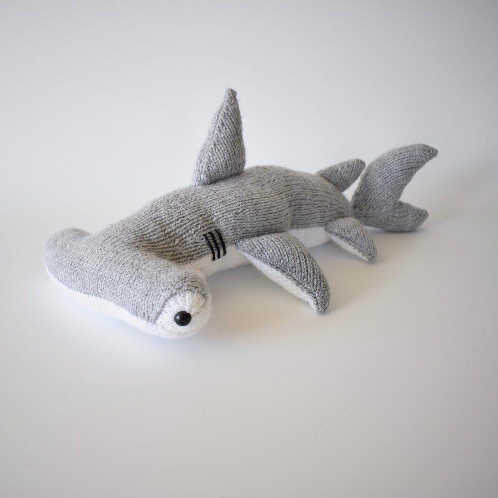 Hammerhead Shark Knitting pattern by Amanda Berry in 2020 ...