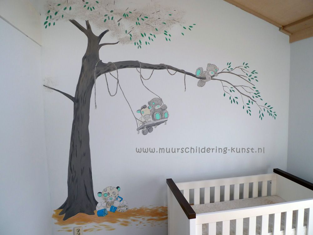 muurschilderingen, muurschildering, muurschildering kinderkamer, Deco ideeën