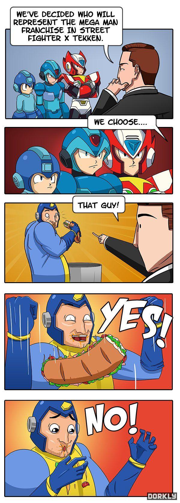 This made me laugh so hard! Mega man, Street fighter