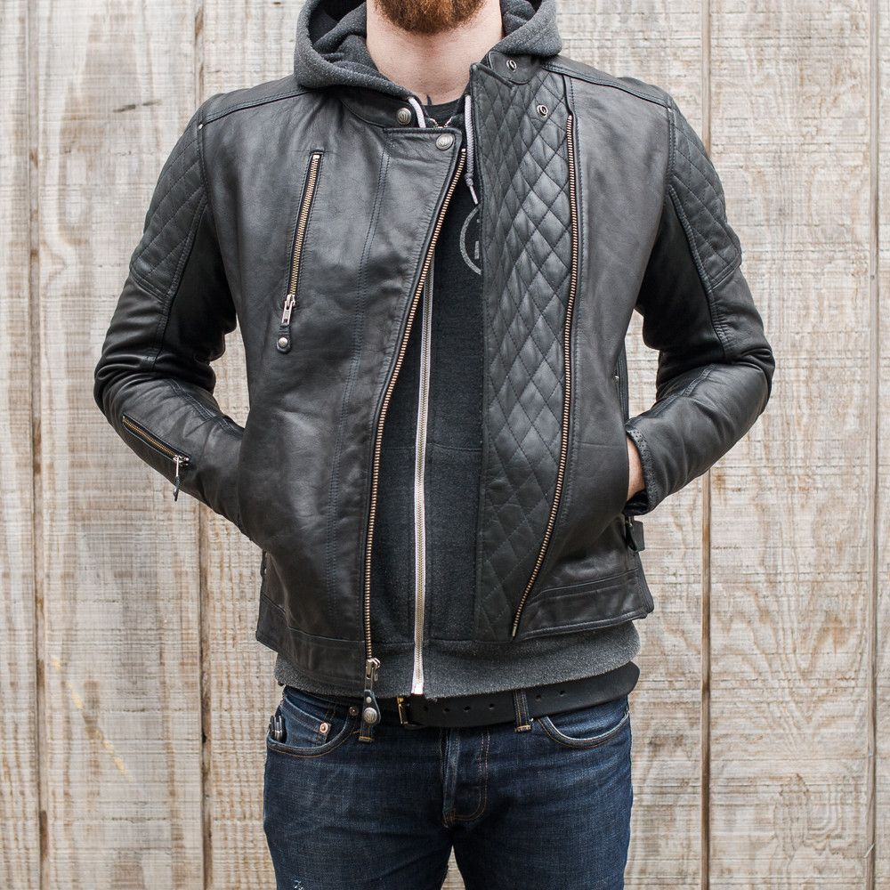Bikes motorcycle parts and riding gear roland sands design - The Roland Sands Clash Leather Jacket Is A Leather Riding Jacket That Has Style For Days