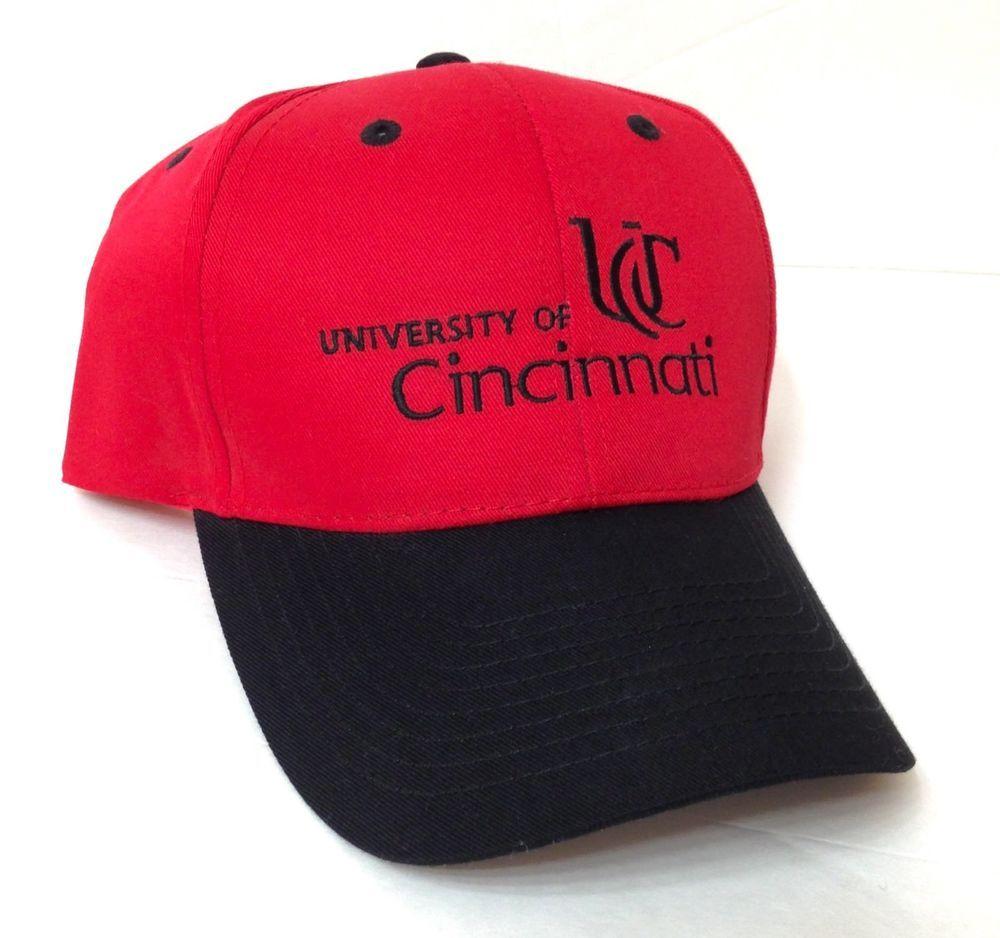 big sale 2723d fe60b ... inexpensive national city promo university of cincinnati hat snapback  men women uc bearcats otto cincinnatibearcats df8de