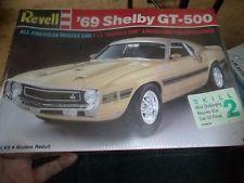 Revell 1969 Ford Mustang Gt 500 Shelby 1 25 Model Car Mountain Kit