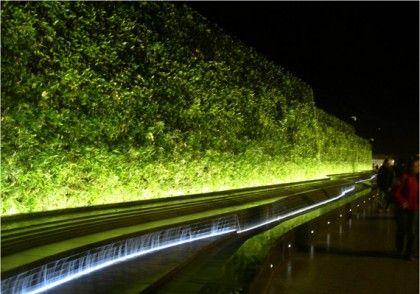 green wall lighting. Arch Light · Westfield Living Wall Green Lighting C