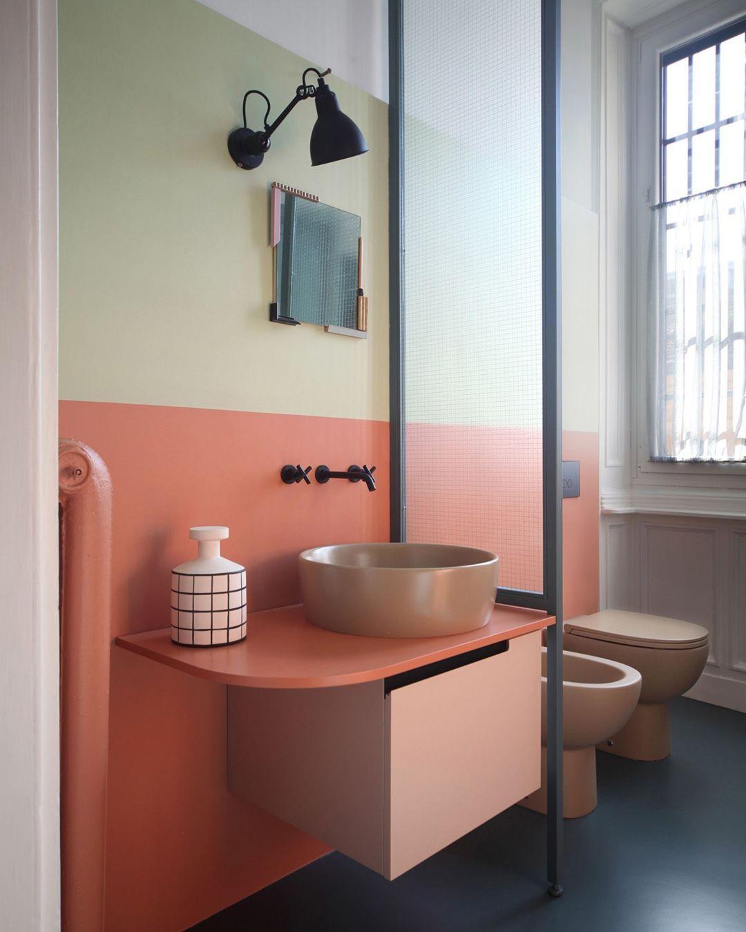 Epingle Par Violaine Moinier Sur Pink Interieur Salle De Bain