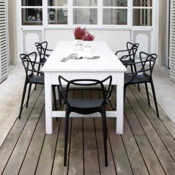 masters stuhl von philipp starck f r kartell garten pinterest essecke balkon und esszimmer. Black Bedroom Furniture Sets. Home Design Ideas
