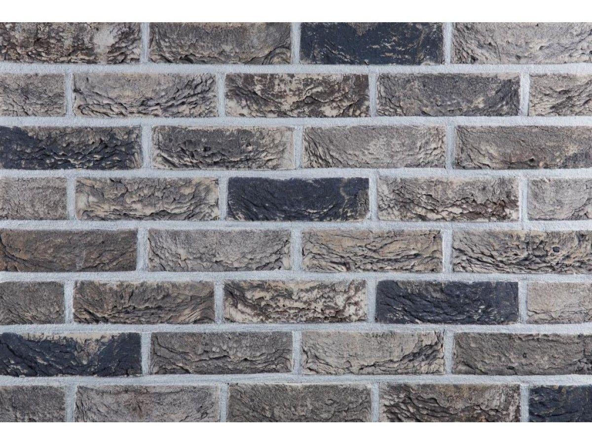 Klinkerriemchen handform riemchen k438r wdf klinker for Hausfassade braun