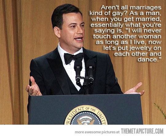 Jimmy Kimmel for gay rights