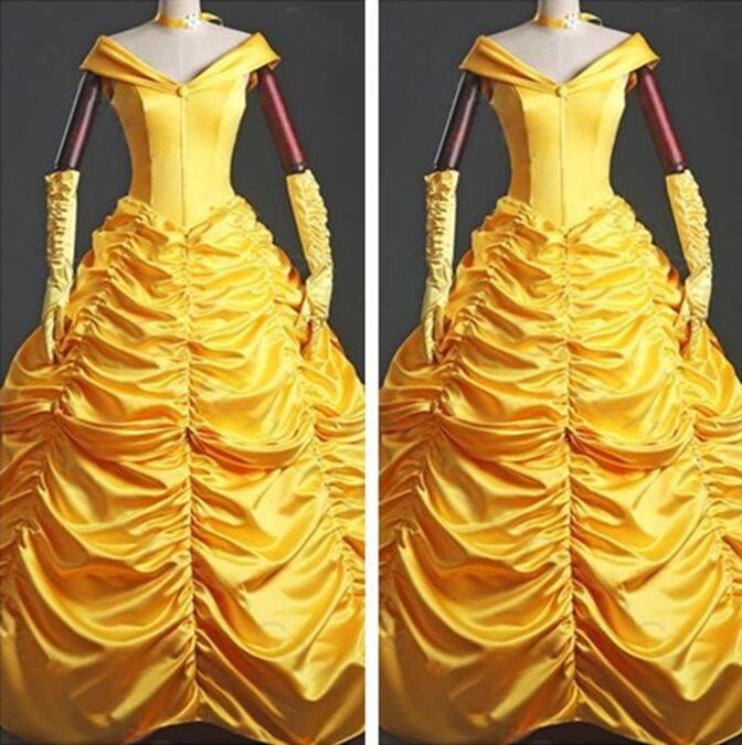 Disney Princess Belle custom designed wig