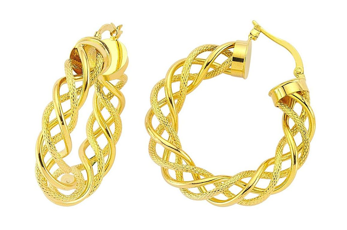 14 Nice Designs Of Gold Earrings For Women | Gold, Woman and Nice