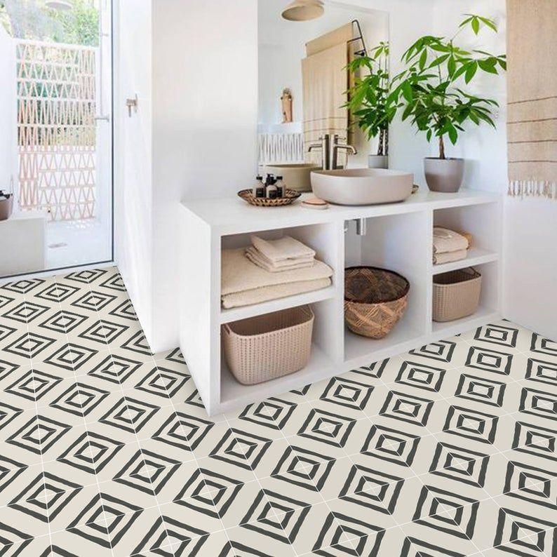 Zeus Vinyl Tile Sticker Pack Tile Decals Floor Stickers