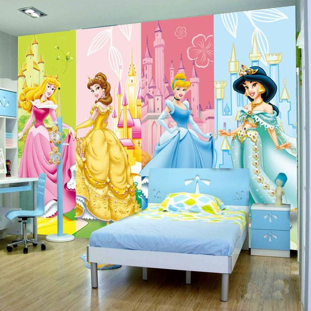 Best Cartoon Princesses Wallpaper 3D Photo Wallpaper Custom 640 x 480