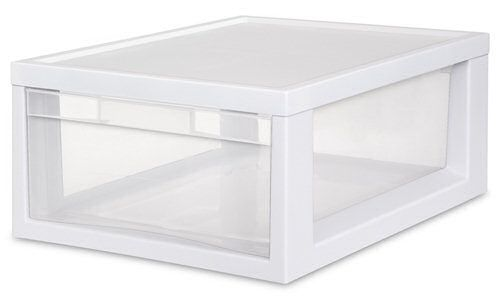 Cajon Individual Mediano De Plastico Transparente Sterilite