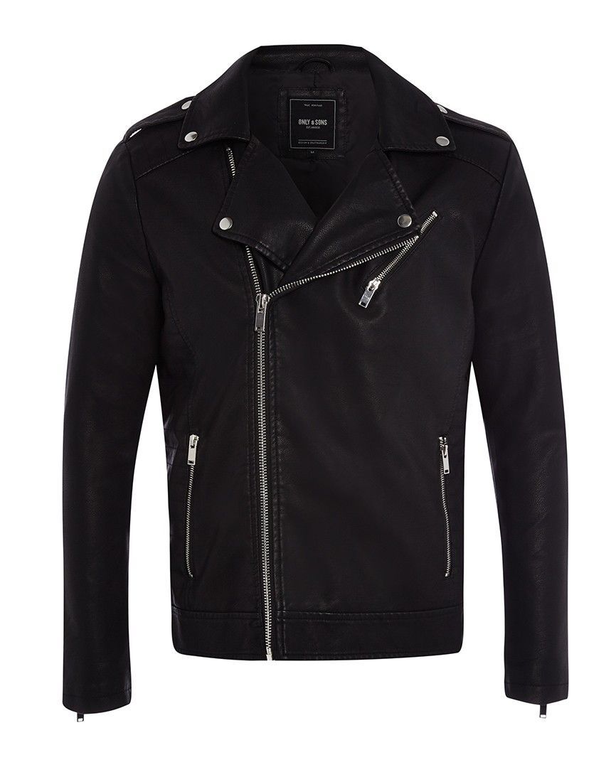 154fb38a Only & Sons Julian Biker Jacket | Shop Men's Clothing at The Idle Man