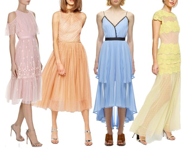 Sheer Wedding Guest Dresses For Spring Summer 2017 See Them All On Www Onefabday