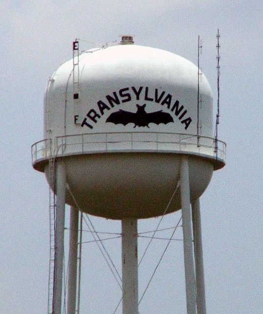 Transylvania Water Tower Water Tower Louisiana Traveling By Yourself