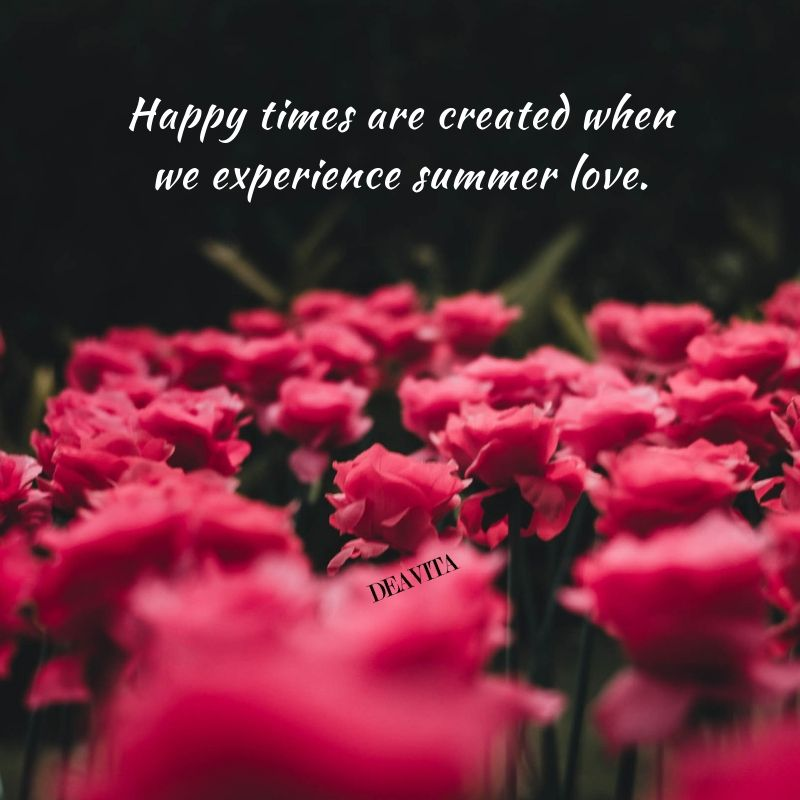 Happy Times And Summer Love Romantic Quotes Summer Love Quotes Romantic Romance Summer Love Quotes Summer Of Love Romantic Quotes