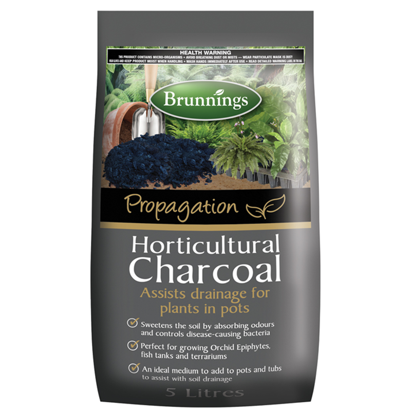 Brunnings 5L Horticultural Charcoal How to make