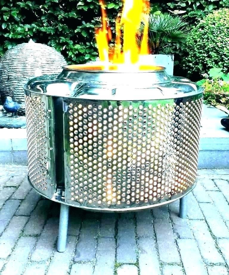 Fire Pits Require Maintenance The Same As Everything Else In Your Lawn The Very Best Part Is It Is Far Mor Metal Fire Pit Outdoor Fire Pit Old Washing Machine