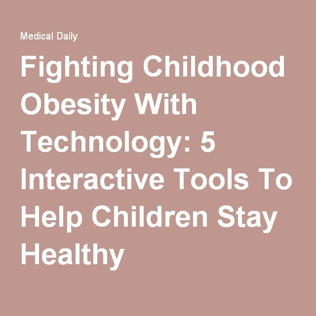childhood obesity and technology