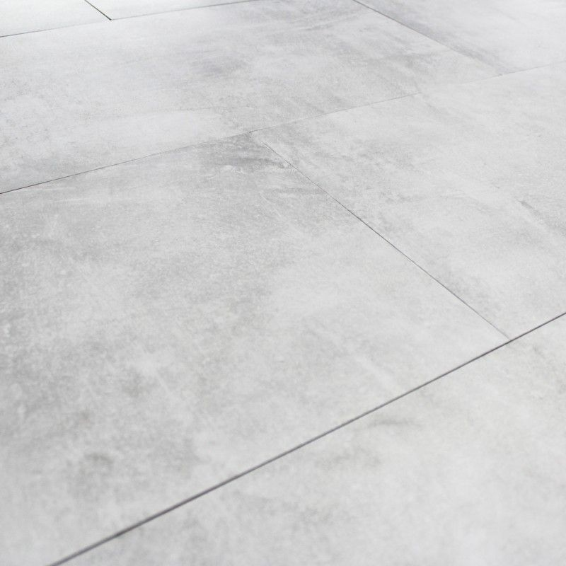 industrial style kitchen tile floor