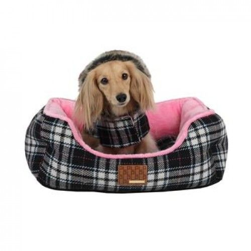 The Dogberry Dog Bed by Puppia will have your dreaming in no time. ""