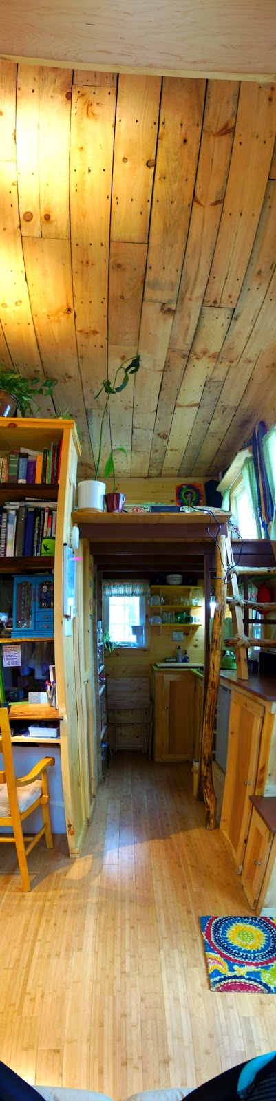 Tiny Home Designs: Off The Grid, No Running Water, Tiny House. Used Reclaimed
