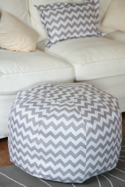 I Have This Amy Butler Pouf Pattern Some Suggested Putting In A Adorable Amy Butler Pouf Ottoman