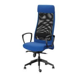 Office Chairs Ikea Markus Swivel Chair Blue Sonnebo Blue