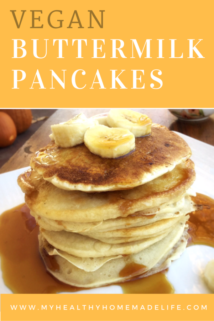 Vegan Buttermilk Pancakes My Healthy Homemade Life Recipes Low Carb Vegetarian Recipes Healthy Homemade