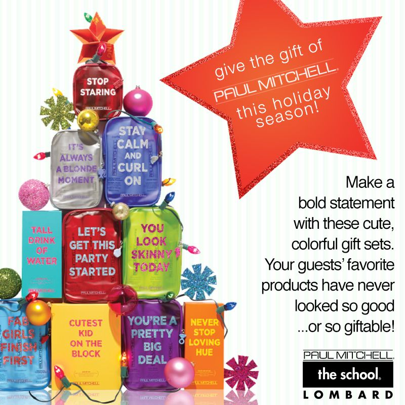 Holiday Gift Sets Cute, Colorful Gift Sets PaulMitchell