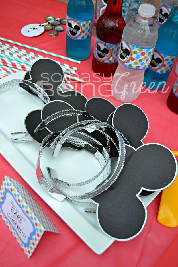 Mickey Mouse Ears Headbands DIY