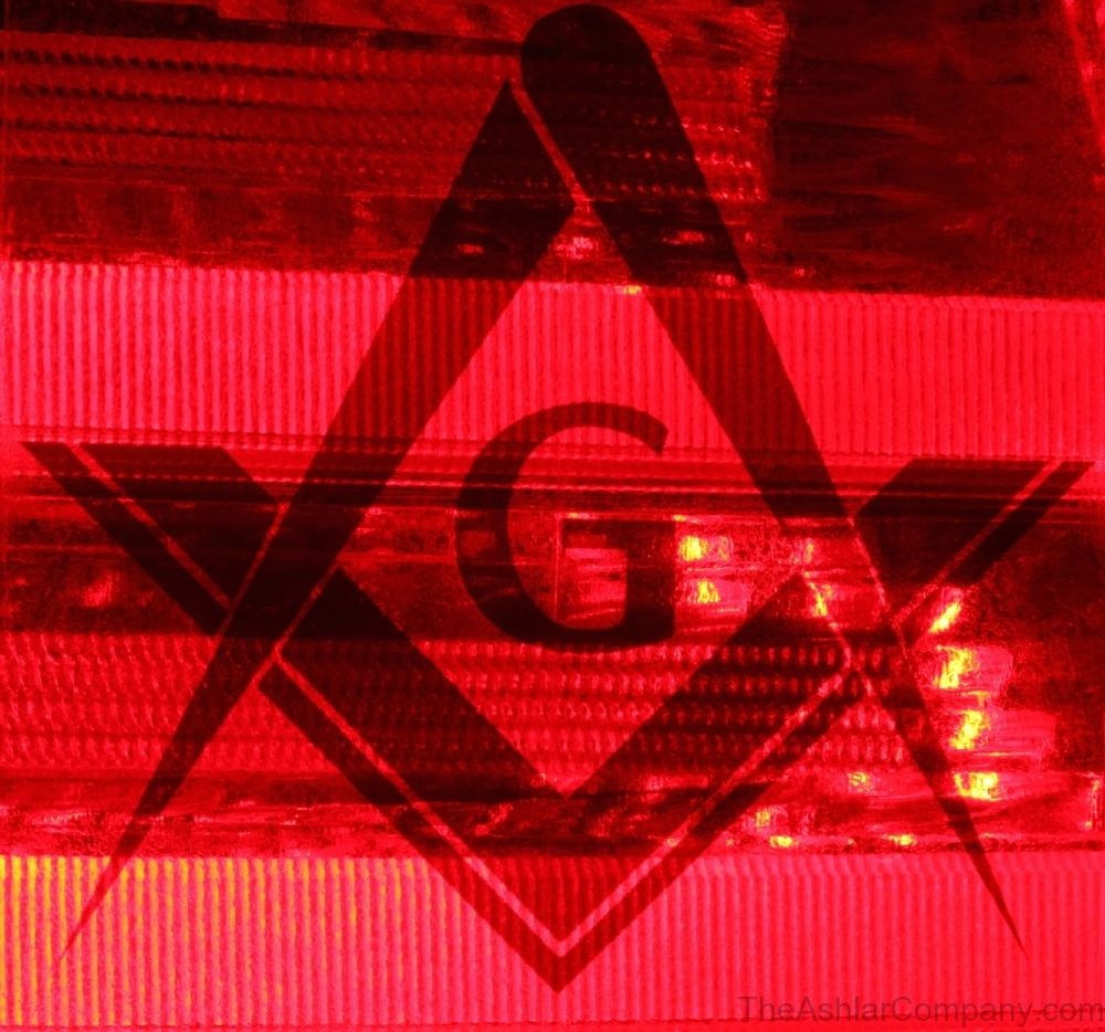 3in Tail Light Stickers Pair Masonic Emblems Custom Coins [ 934 x 1000 Pixel ]