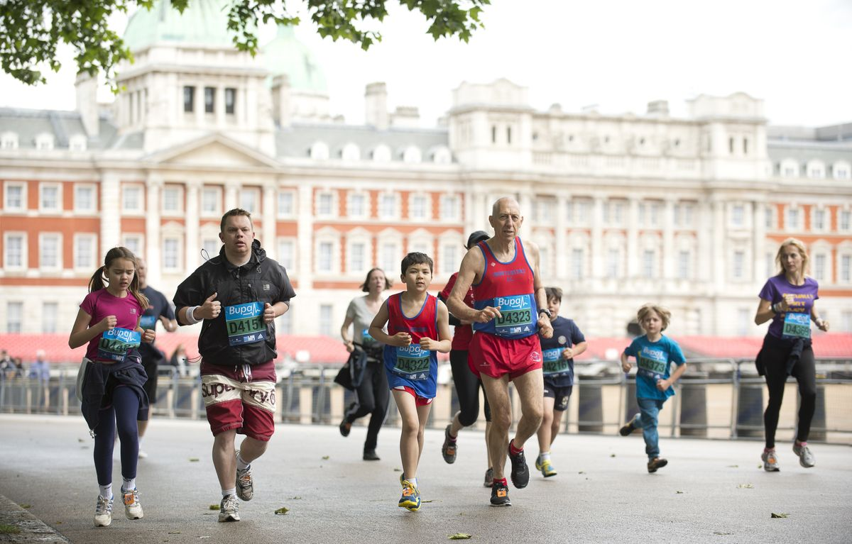 Race along the most famous mile in the world, starting on The Mall and finishing outside Buckingham Palace.  #WestminsterMile #Running #MayBankHoliday #ThisGirlCan