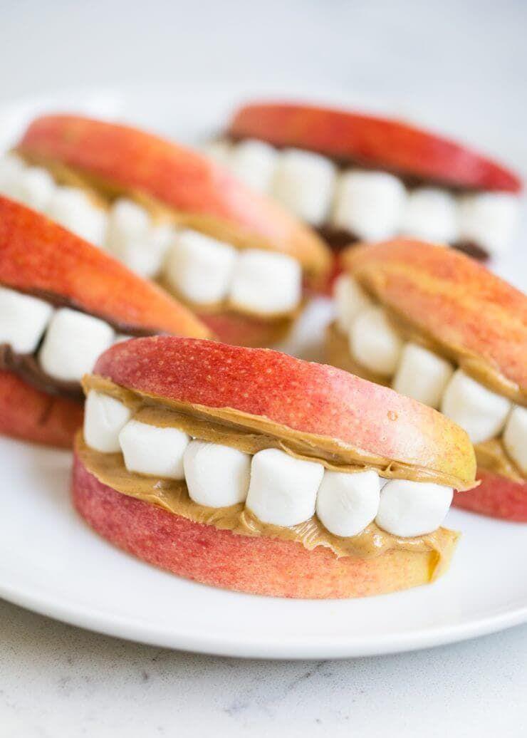 Halloween snack ideas for school #halloweenbreakfastforkids