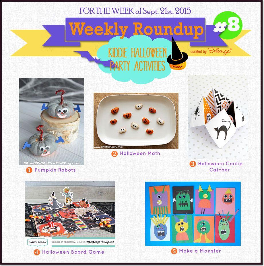 Weekly Roundup #8: Kiddie Halloween Party Activities! | Crafts ...
