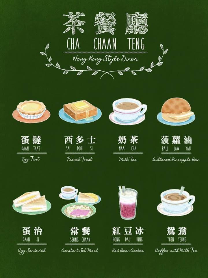 Cha chaan teng visual diary pinterest food