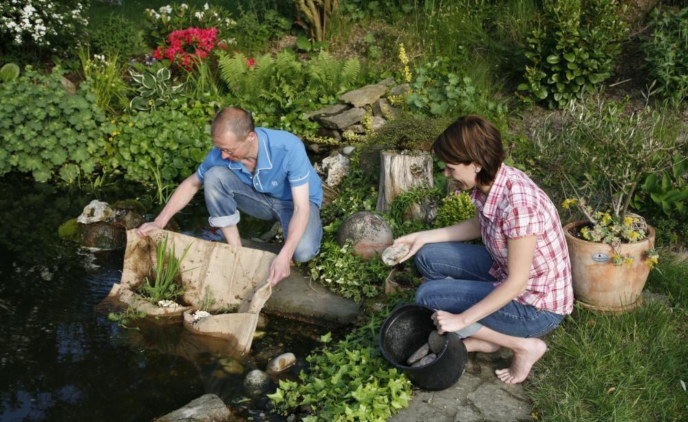 Gartenteich Richtig Anlegen Das Eines Gartenteichs Ist Kein Hexenwerk Dennoch Vor Dem Ersten Spatenstich Eine Gute Planung Wichtig